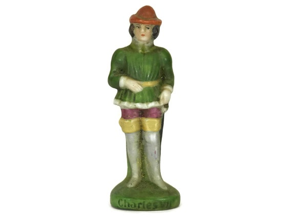 King Charles VII Scheibe Alsbach Porcelain Figurine.