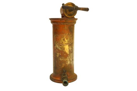 Antique Medical Instrument Irrigator, Docteur Eguisier French Medical Curiosity Decor, Gift For Doctor