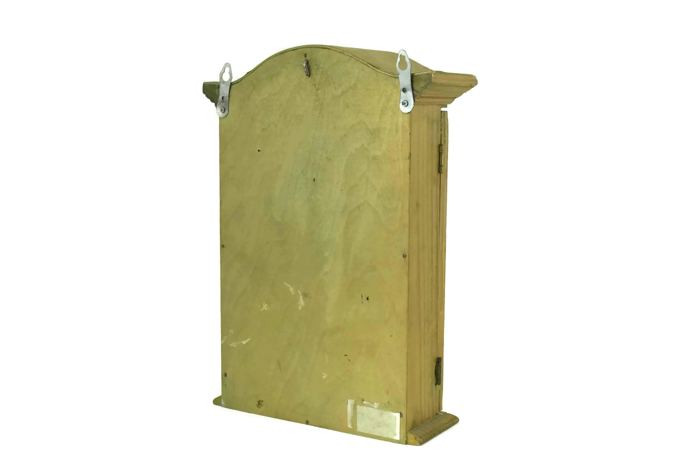 Vintage Miniature French Linen Closet Shadow Box. Rustic Bathroom ...