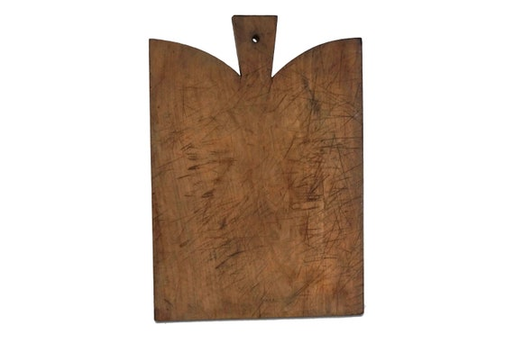Large Wood Cutting Board, Rustic French Chopping Board, Country Kitchen Decor