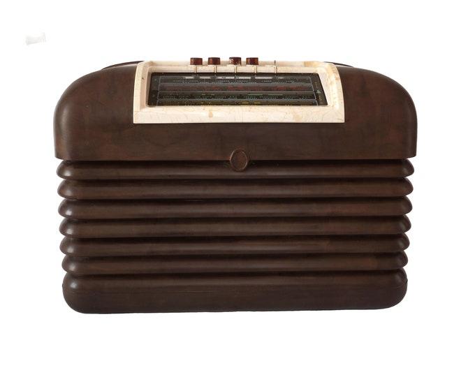 Art Deco Bakelite Bush Radio, Collectible Old Transistor