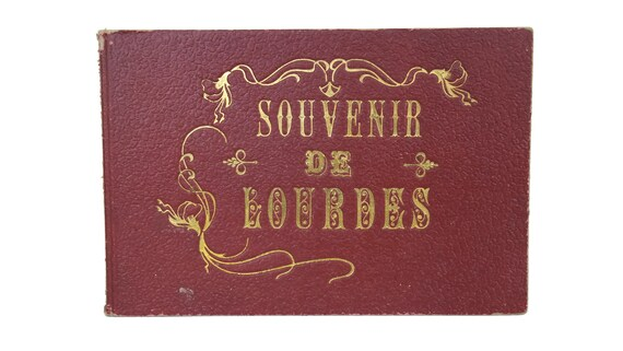 Antique Lourdes Souvenir Picture Book