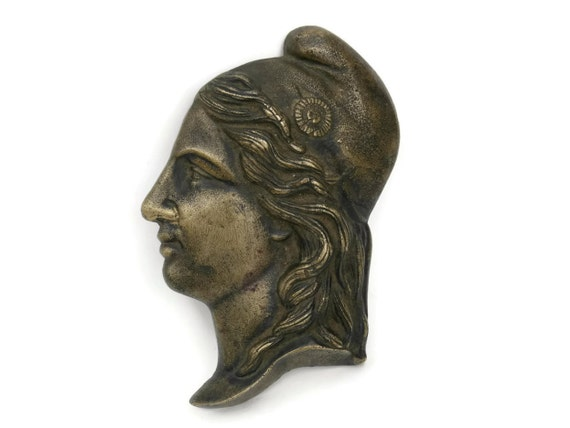 French Marianne Profile Portrait Wall Plaque. French Republic Wall Sign.