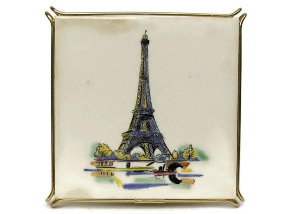 Vintage sottopentola di piastrelle di ceramica souvenir parigi etsy