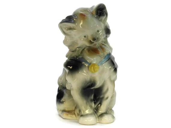 Large Vintage Cat Figurine