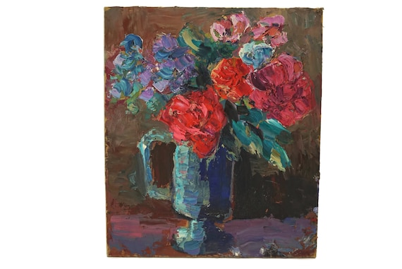 Roses Still Life Oil Painting