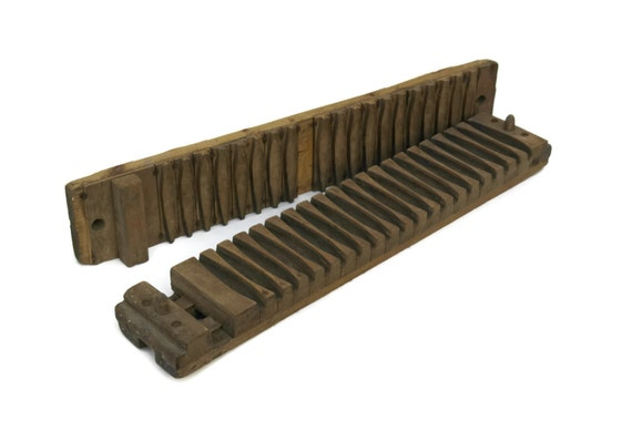 Antique German Wooden Cigar Press. Wedding Cigar Bar Decor. Father of The Bride Cigar Gift.