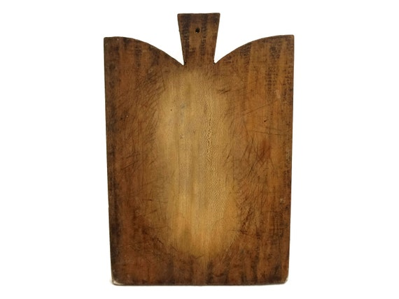 Large Antique Wood Cutting Board