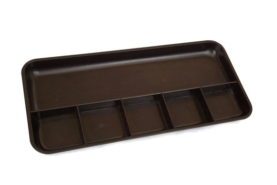 1960s Bakelite HELIT Desk Tray, Art Deco Office Decor