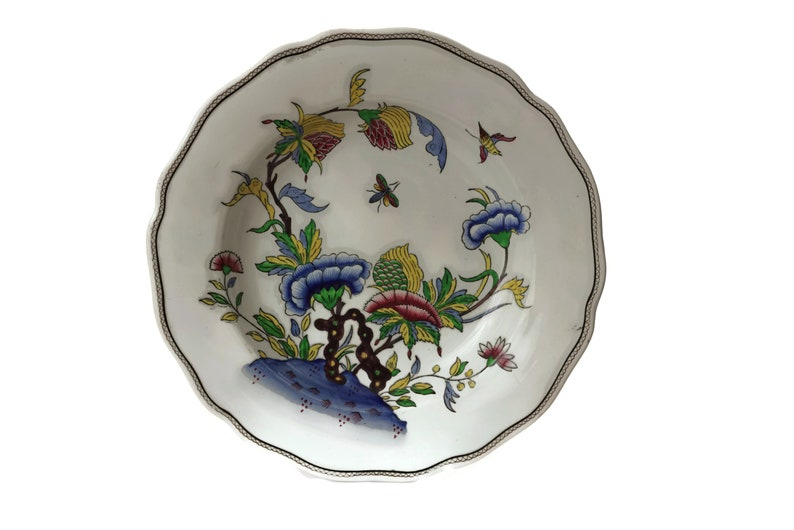 """Late 19th Century Antique French Sarreguemines Majolica Oyster Plates 9.5/"""""""