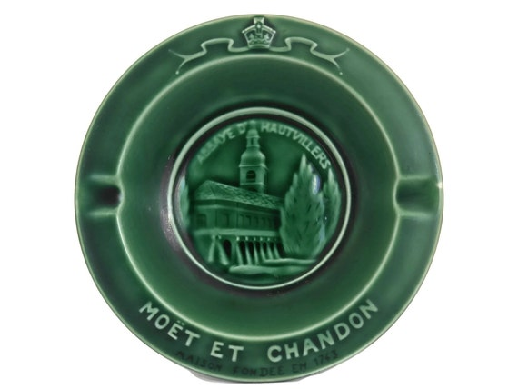 Moet and Chandon Champagne Advertising Ashtray