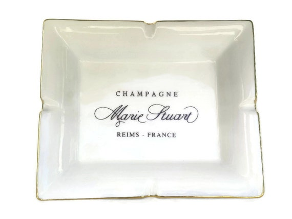 Marie Stuart French Champagne Cigar Ashtray.