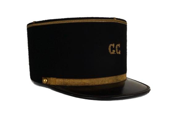 French Gendarme Hat, Police Uniform Cap, Garde Champetre Kepi