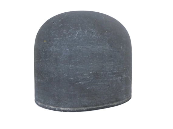 French Antique Metal Hat Block