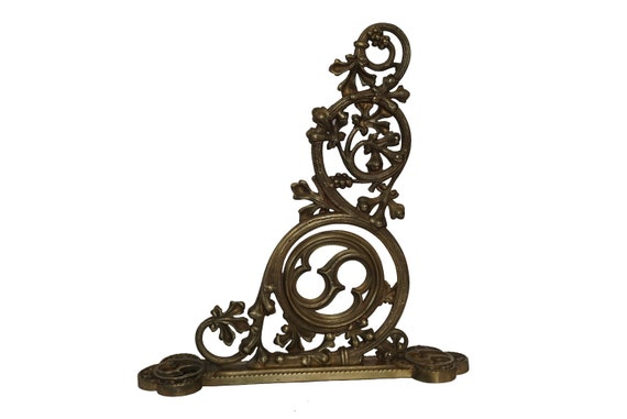 French Antique Bronze Church Wall Bracket For Sanctuary Light or Censer, Christian Home Decor