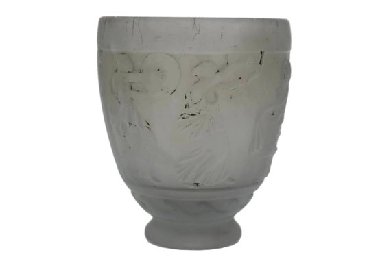 Art Deco Vase by Georges de Feure, Antique French Collectible Glass