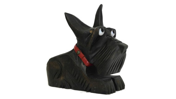 Art Deco Scottish Terrier Pipe Holder