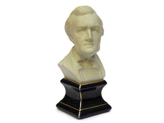 Camille Tharaud Limoges Porcelain Richard Wagner Composers Bust.