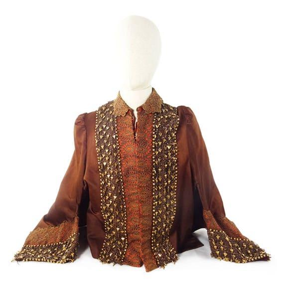 Beaded Silk Jacket, Victorian, Museum Quality, Han
