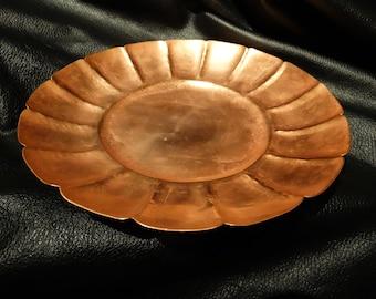 Copper Bowl, RARE Signed Harienan, Handmade 1963