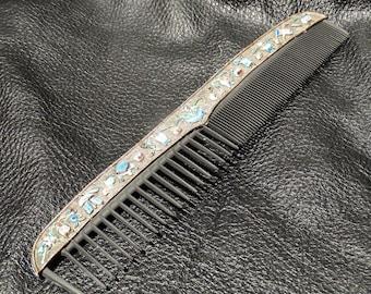 Chinese Enamel Comb Antique Circa 1900