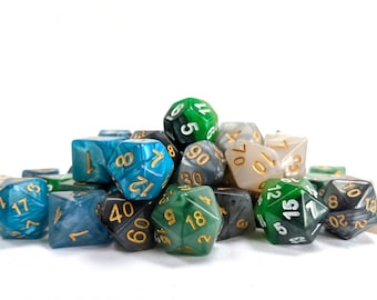 RPG Dice Palette   Celestial   Polyhedral Dice Set   Dungeons and Dragons   Pathfinder   Role Playing Dice   RPG   Gift for Geeks