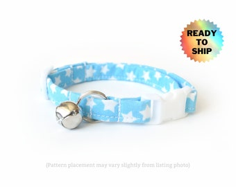 """Sky Blue Cat Collar 