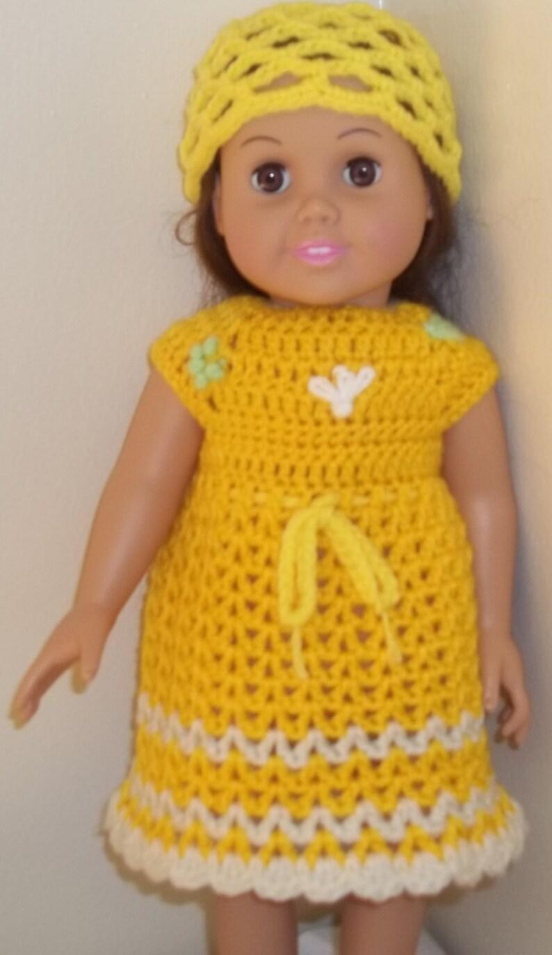 American Girl Bambola Uncinetto Vestiti Per 18 Ragazza Etsy