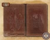 "Vampire BOOK COVER Stories of the Undead ~ Jpg Png Digital Downloads ~ 5X9, 11x17"" Journal Worn Antique Red Velvet Romanian ""Vampir Jurnal""."