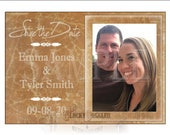 SAVE THE DATE Cracked Leather Printable Cards ~ Custom jpg Digital Download ~ Personalized & Photo ~ Old  Worn Hide Upholstery Image File