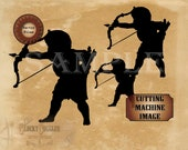 """CUPID Junk Journal Clip Art ~ SVG, Jpg, Png, Eps, Dxf ~ 10X12"""" Black Silhouette Transfer Design, T-shirt, Craft, Small Business, Sublimation"""