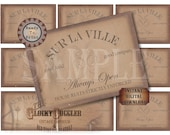 Speakeasy Table Card & Place Cards Set~ JPG Digital Files ~ Sur La Ville Club Pass Prohibition Roaring 20s Gatsby Party Wedding~ Member Name