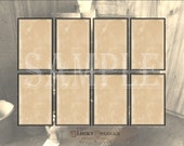 Rectangle Apothecary Jar Label Printable JPG ~ 9 Blank Aged Halloween, Herb, Spice, Liquor, Medicine Bottle Tags ~ Price Tags, Jewelry Cards