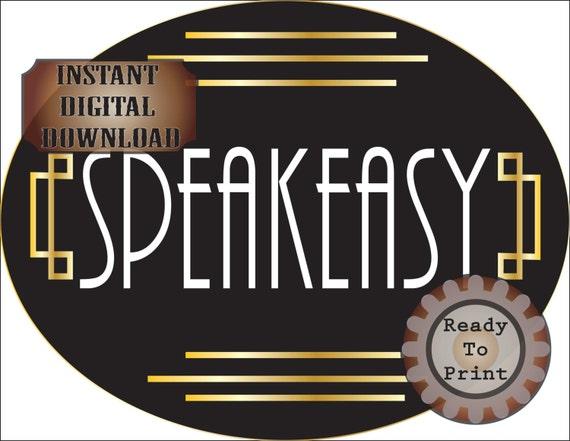 Event Bar Sign for Wedding 1920s Speakeasy Gatsby Style Sign for Wedding Gatsby Themed Party Decor Sign for Bar