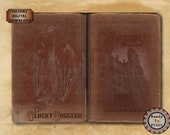 "Vampire Stories of the Undead Book Cover ~ JPG PNG Digital Downloads ~ 5X9, 11x17"" Journal Worn Antique Red Velvet Romanian ""Vampir Jurnal""."
