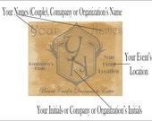 Personalized Speakeasy Cards Printable 9 Wedding Announcements Custom Member Passes Prohibition Ephemera 1920s Gatsby Favors Gentlemen Club