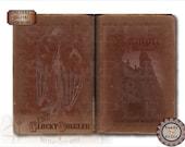 "Vampire Journal Book Cover ~ JPG PNG Digital Downloads ~ 5X9, 11x17"" Stories of the Undead Worn Antique Red Velvet Romanian ""Vampir Jurnal""."