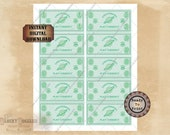 """Play Money Game Currency Printable JPG ~ 1 to 1 billion credits ~ """"Universal Play Currency"""" Escape Room Game Pieces or Murder Mystery Props"""