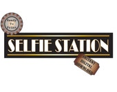 Selfie Station Banner Printable Roaring Gatsby Era Prohibition Speakeasy Flapper Style Wedding Party Photo Booth 24X6 Inch Sign Digital File