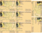 Baby's First Birthday Invitation Printable Set of 8 Victorian Vintage Ephemera Rennaissance Birthday Party Invitations