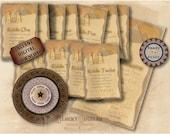 Egyptian Decoder Wheel & Riddles Printable 5 jpg Set ~ Explorer ESCAPE ROOM Activity Pyramid Temple, Treasure Hunter, Around the World