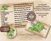 Apple Spice Fritters Recipe Cards Mason Jar Labels Hang Tags Vintage Farmhouse Style Sheets ~ 3 JPG Files ~ Fall Gift Basket Printable Set