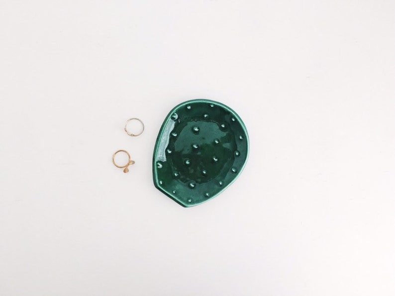 Cactus Ring Dish  Plant Ring Holder  Plant Lover Gifts  image 0