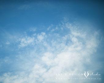 Cloud Art - Daydream Art Print, Bathroom Art, Clouds Photo, Cloud Photography, Nursery Art, Blue Sky, Blue Skies Photo, Whimsical Prints
