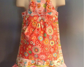 TODAY oNLY MARKDOWN!! Apron Knot dress with Removable apron!