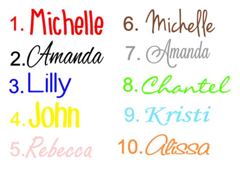 Personalized name decal kids name yeti labels computer image 0