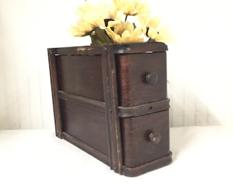 Sewing Machine Drawers, Drawer Cabinet, Wood Drawers, Farmhouse Decor,  Storage, Primitive Decor