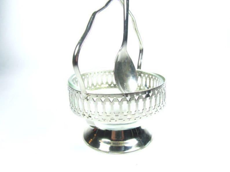 silver dish,wedding decor Vintage Silver sugar Bowl Serving Bowl,Leonard silver,wedding Serving Dish,shabby chic decor
