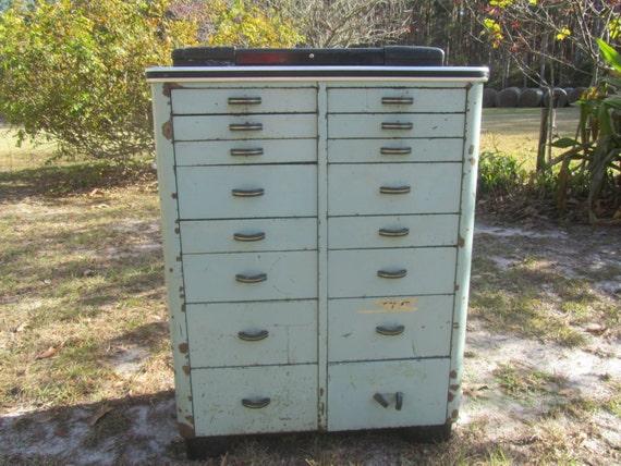 image 0 - DENTAL CABINET Medical Cabinet Vintage Cabinet Metal Multi Etsy