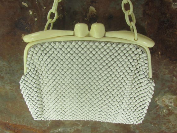 Vintage Whiting and Davis Purse, Vintage Alumesh p